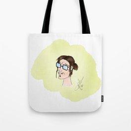 Comic Alternative Rocker Guy Tote Bag