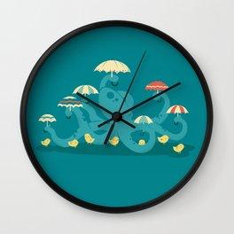 Keepin' the Chicks Dry Wall Clock