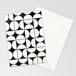 Mid-Century Modern Pattern No.2 - Concrete Stationery Cards