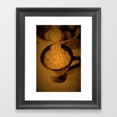 A Fancy Cuppa DPPA150510a Framed Art Print