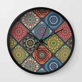 Vintage Maze Wall Clock