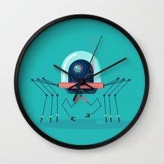:::Mini Robot-Arachno::: Wall Clock