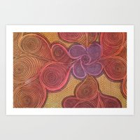 Free Your Mind in Color Art Print