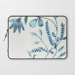 blue plants Laptop Sleeve