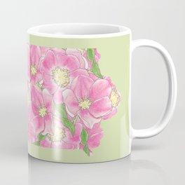 Iowa in Flowers Coffee Mug