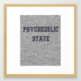 Psychedelic State... of mind Framed Art Print