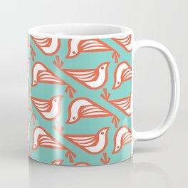Danish Doves (Mint) Coffee Mug