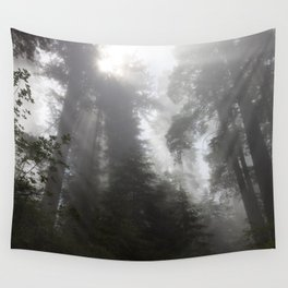 Lifting Fog Wall Tapestry