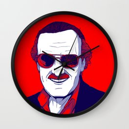 Stan Lee / Excelsior Wall Clock