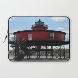 Seven Foot Knoll Lighthouse Laptop Sleeve