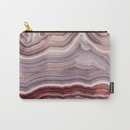 Agate Crystal Carry-All Pouch