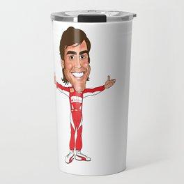 Fernando Alonso Travel Mug