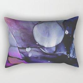 A Violet Gaze Rectangular Pillow