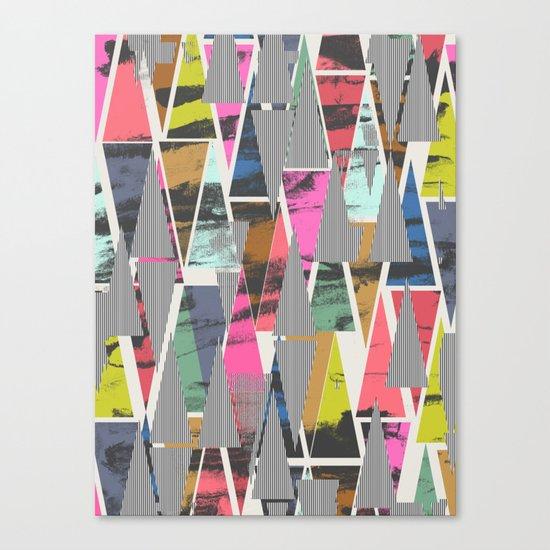 Triangles 21 Canvas Print