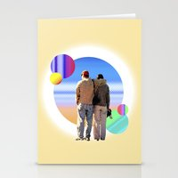 melissa smith Stationery Cards featuring Melissa & Ernie by MCDiBiase