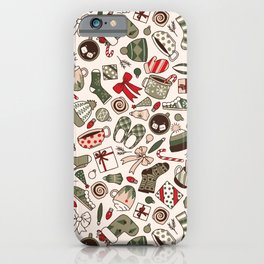 A Cozy Christmas Morning iPhone Case