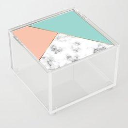 Marble Geometry 056 Acrylic Box