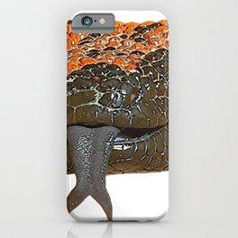 Gila Monster Venomous Lizard Reptile Sneaky Agent Orange Dots iPhone Case