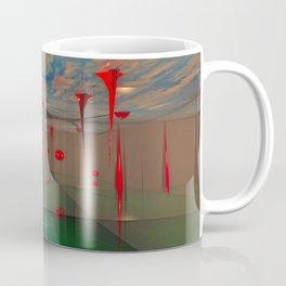 Futuristic Landscape 3D Modeling Sci-Fi Art Coffee Mug