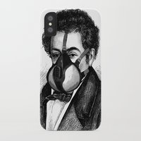 mask iPhone & iPod Cases featuring Mask by DIVIDUS