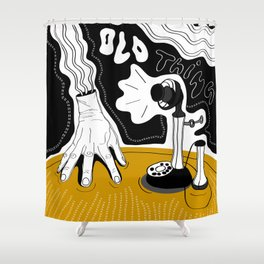 Thing (Addams Family) Shower Curtain