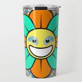 SUPER FLOWER POWER Travel Mug