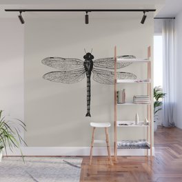 Botanical Line - Dragonfly Wall Mural