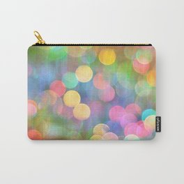 Rainbow Bokeh I Carry-All Pouch