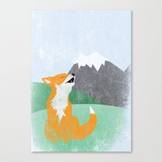The Wild Fox Canvas Print