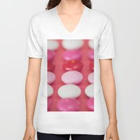 dot V-neck T-shirts featuring Dot, dot, dot . . . . by Kim Fearheiley Photography