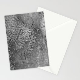 textured jute fabric for background and texture Stationery Cards