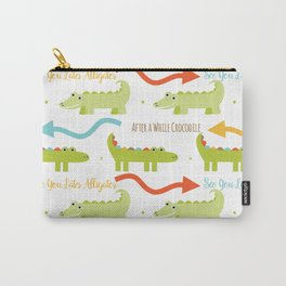 Alligator Crocodile Carry-All Pouch