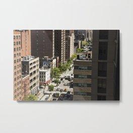 The Streets Metal Print