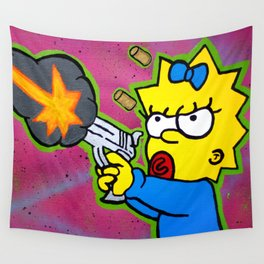 Don't Mess With Baby Wall Tapestry