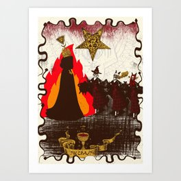 The Craft Art Print