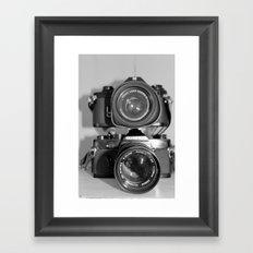 Double Your Pleasure Framed Art Print