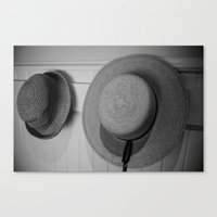 hats Canvas Prints featuring Hats by Reimerpics
