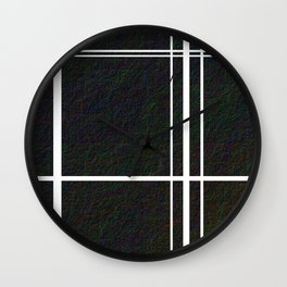 Sectioning The Hide Wall Clock
