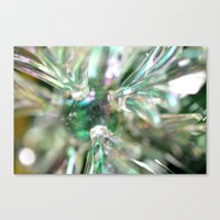 snowflake Canvas Prints featuring snowflake by Lalina ChristmasShop