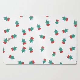 Ditsy Mistletoe Cutting Board