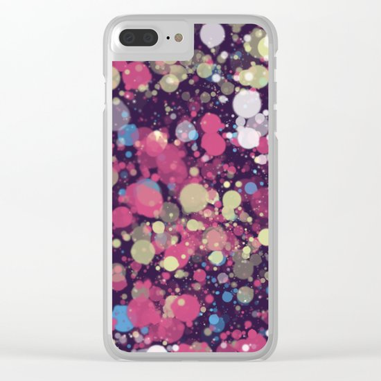 Abstract 34 Clear iPhone Case