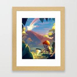 Parallelism II Framed Art Print