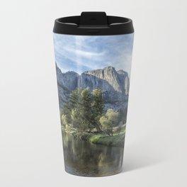 Yosemite Falls from Cook's Meadow Metal Travel Mug