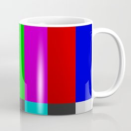 NTSC Color Bars Coffee Mug