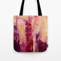 skyline Tote Bags featuring Skyline by Stephanie Cole CREATIONS