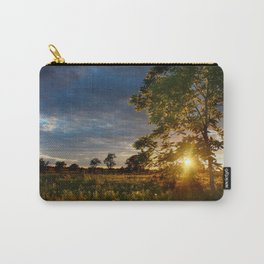 Golden Hour on the Prairie Carry-All Pouch