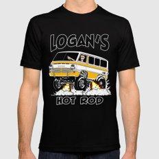Logan's Hot Rod Van -1 rev2 2X-LARGE Mens Fitted Tee Black