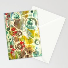 Peeking Trees Stationery Cards