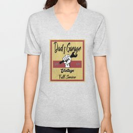 Dad`s Garage Unisex V-Neck