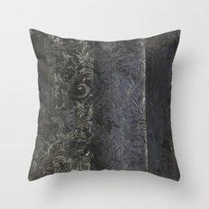 collage black Throw Pillow